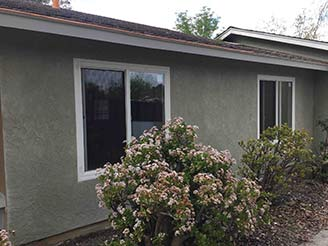 OCEANSIDE PLASTERING - GARAGE STUCCO