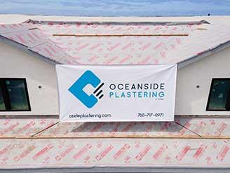 OCEANSIDE PLASTERING - GARAGE STUCCO